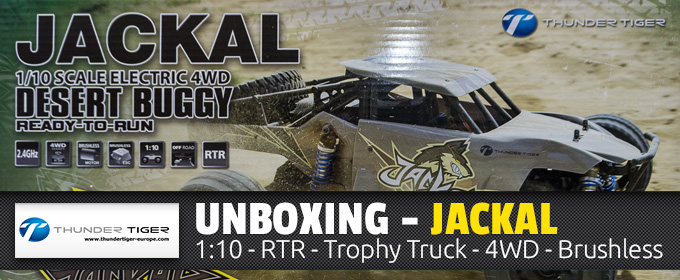 JACKAL - Throphy Truck by Thunder Tiger - RTR - Waterproof