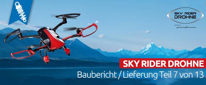 Sky Rider Drohne Quadrocopter by pininfarina Baubericht Teil 7 von 13