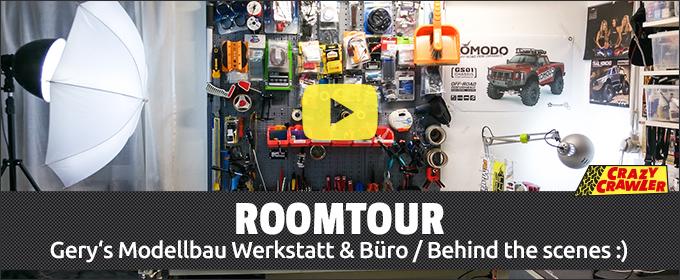 Gery's ROOMTOUR - Werkstatt & Büro
