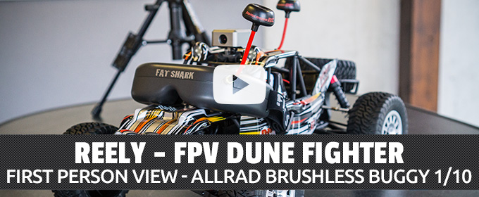 Reely Dune Fighter FPV Brushless Buggy 1:10 RC