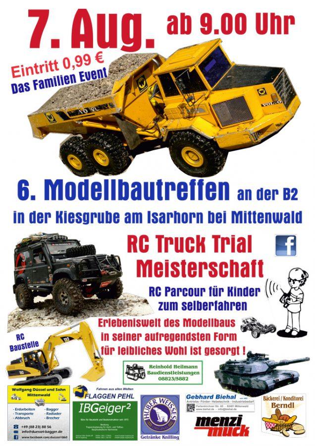 Modellbautreff 2016 Plakat