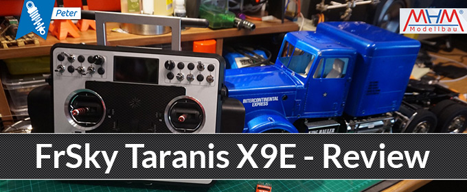 FrSky Taranis X9E - Review
