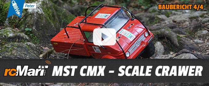 MST CMX – Scale Crawler – Baubericht Teil 4/4