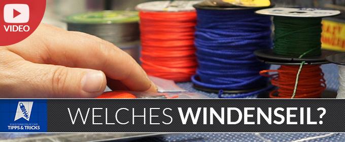 Video: Welches Seil für die Seilwinde?