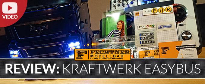 Kraftwerk EasyBus Lichtanlage für MAN TGX - Einbau & Review