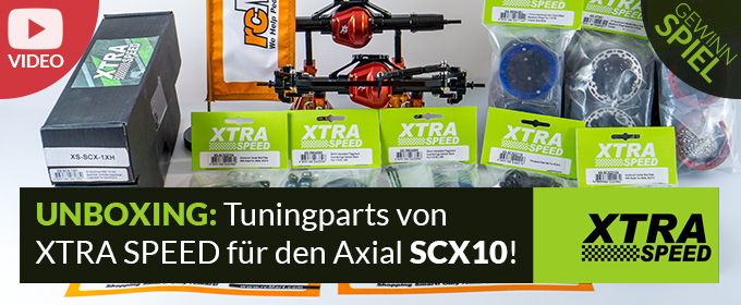 XTRA SPEED - Tuning / Hop-Up Parts für den Axial Racing - SCX10