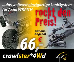 4Wd >wraith - crawlster® LenkSysteme
