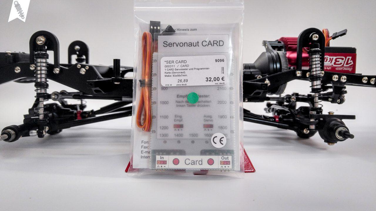 Servonaut-CARD-Programmierkarte
