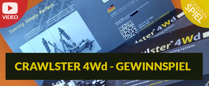 crawlster 4Wd Weihnachtsgewinnspiel - Gewinne ein Wraith Lenkungskit!