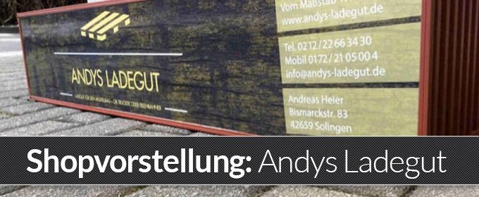Modellbau Ladegut und Parcoursbau - Andys-Ladegut.de