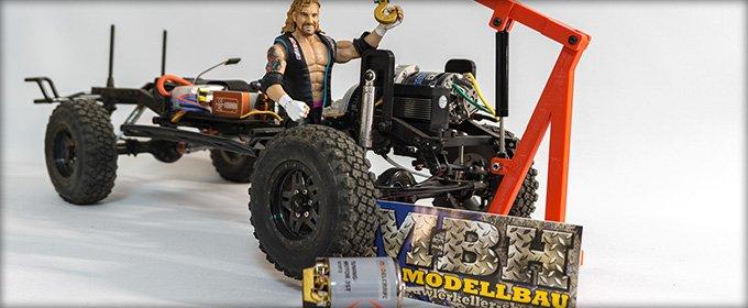 Unboxing: Crawlerkeller Motor-Lifter und Sandbleche + Gewinnspiel