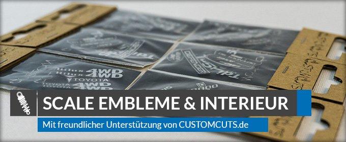 Beitragsbild: Scale Embleme und Door Panels von Custom Cuts