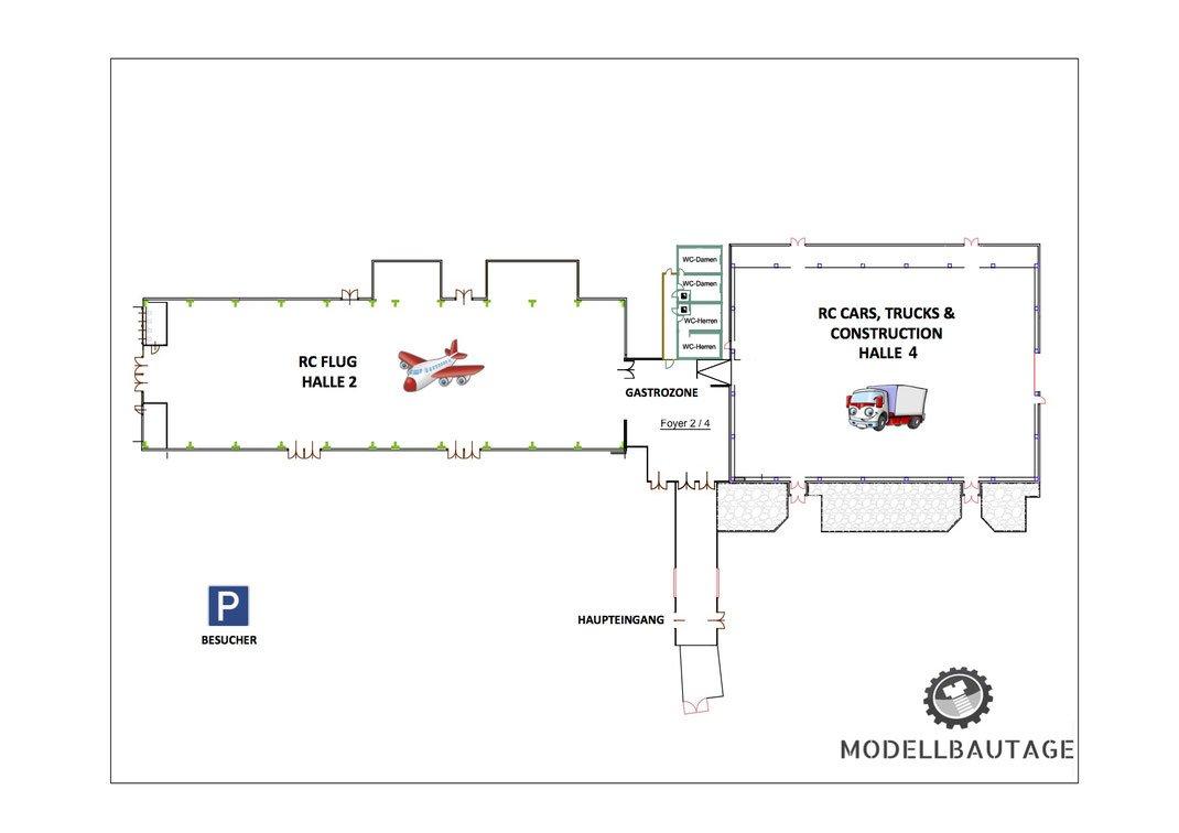 Grafik: Übersichtsplan Wiener Neustädter MODELLBAUTAGE