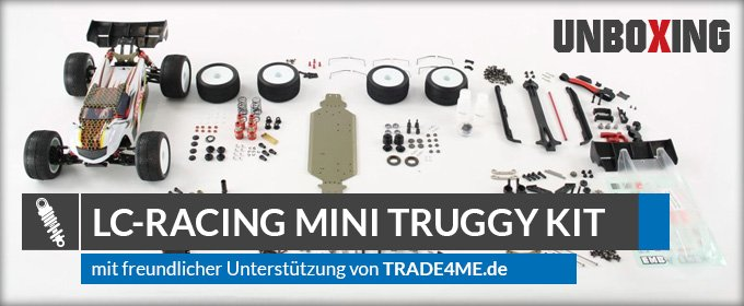 LC-Racing Mini Off-Road Truggy Kit 1:14 EMB-TGHK - Unboxing & Review