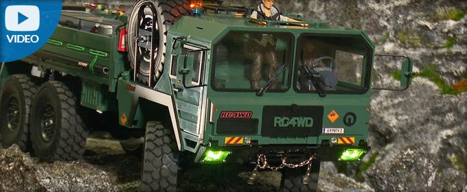 RC4WD The Beast / Rock blasting