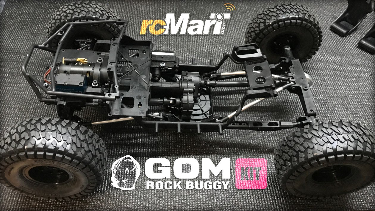 Artikelbild: GMADE GOM GR01 - Baubericht