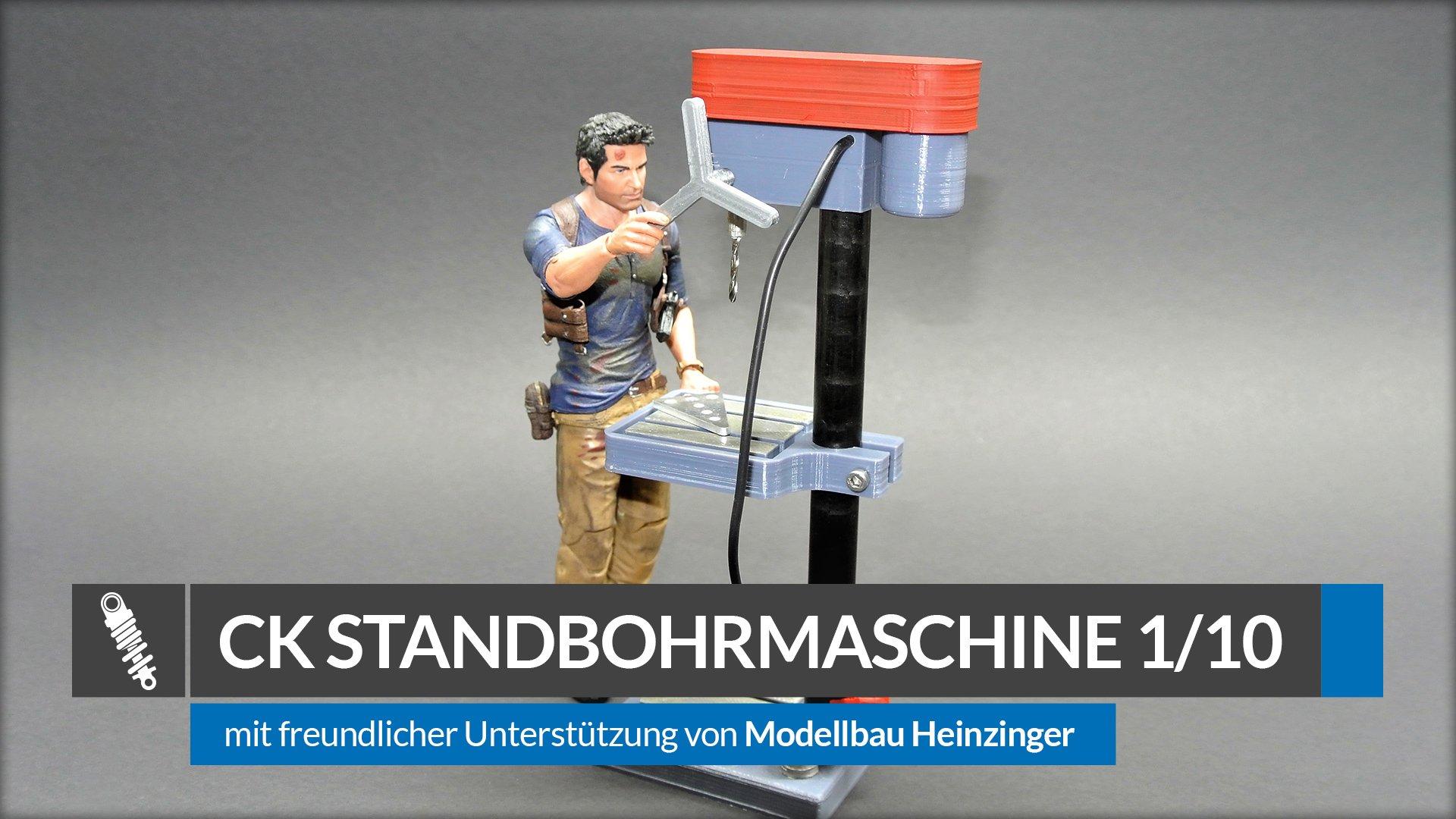CK Ständerbohrmaschine 1:10 von Modellbau Heinzinger