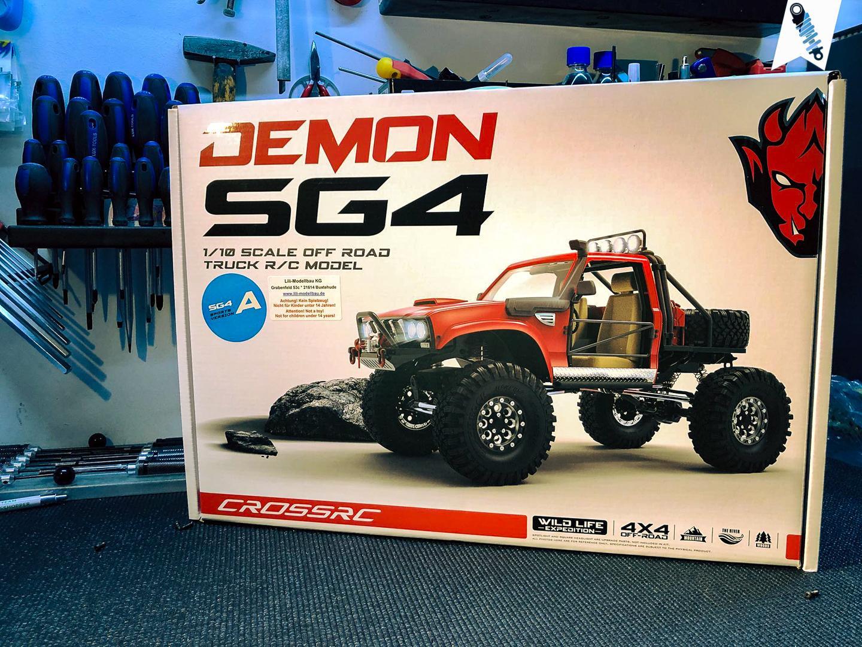 Foto von der Cross-RC DEMON SG4 A Verpackung