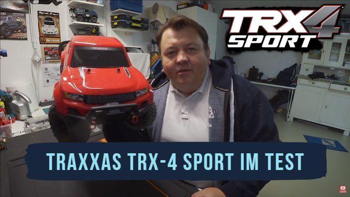 Traxxas TRX-4 Sport - Beitragsbild zum Test und Vorstellung